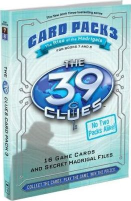 39 CLUES, THE CARD PACK 3: THE RISE OF THE MADRIGALS