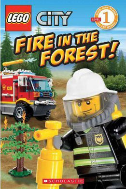 Lego Fire in the Forest!