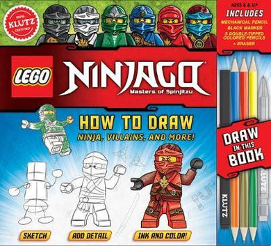 Lego Ninjago: How To Draw Ninja, Villains, And More!