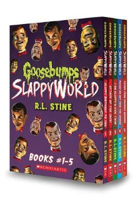 Goosebumps SlappyWorld Books 1-5