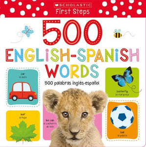 500 ENGLISH-SPANISH WORDS / 500 PALABRAS INGLÉS-ESPAÑOL