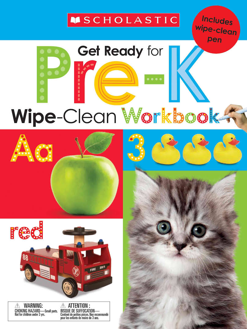 WIPE CLEAN WORKBOOKS - GET READY FOR PRE-K