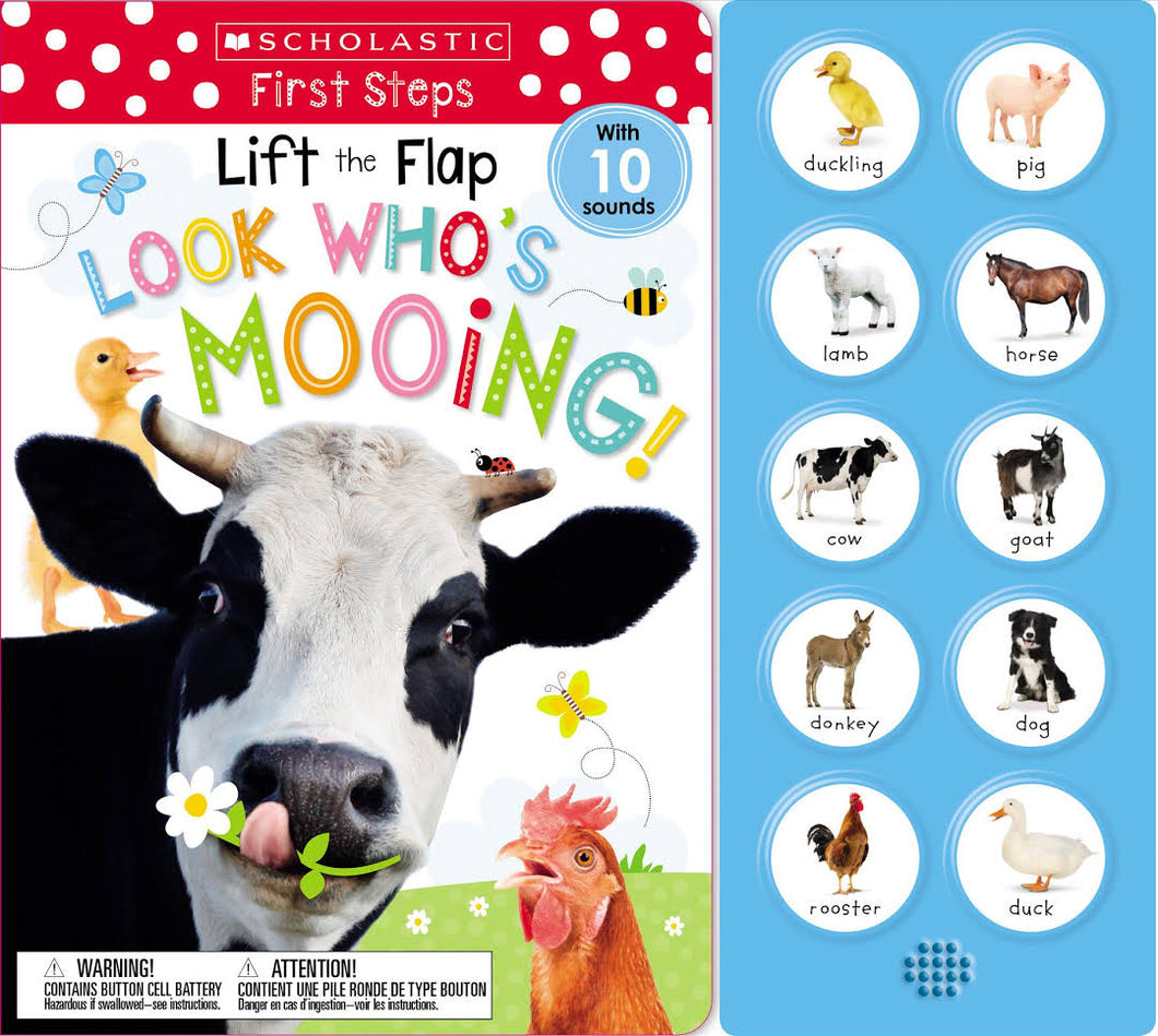 LIFT THE FLAP: LOOK WHO'S MOOING!