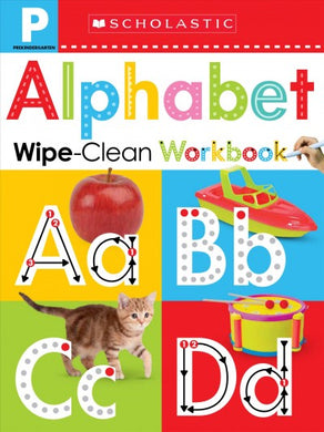 Alphabet: Wipe-Clean Workbook