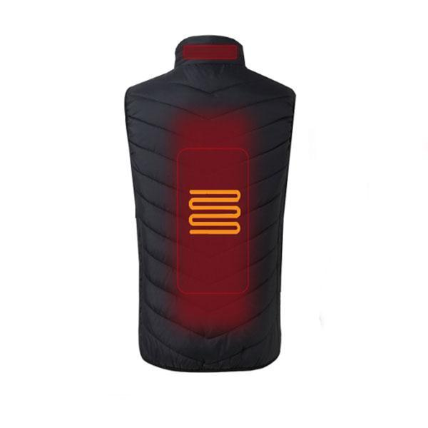 Smarted Heated Winter Vest -Electric Battery-Powered