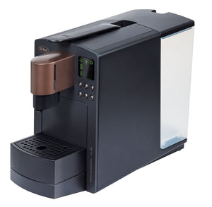 Side view of Grande coffee and espresso maker