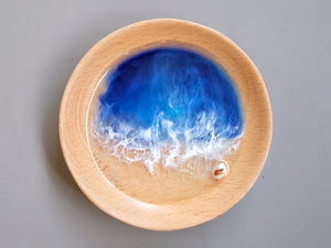 Malibu Seascape Beech Wood Trinket Tray #4