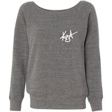 KUA - Women's Fleece Wideneck Sweatshirt
