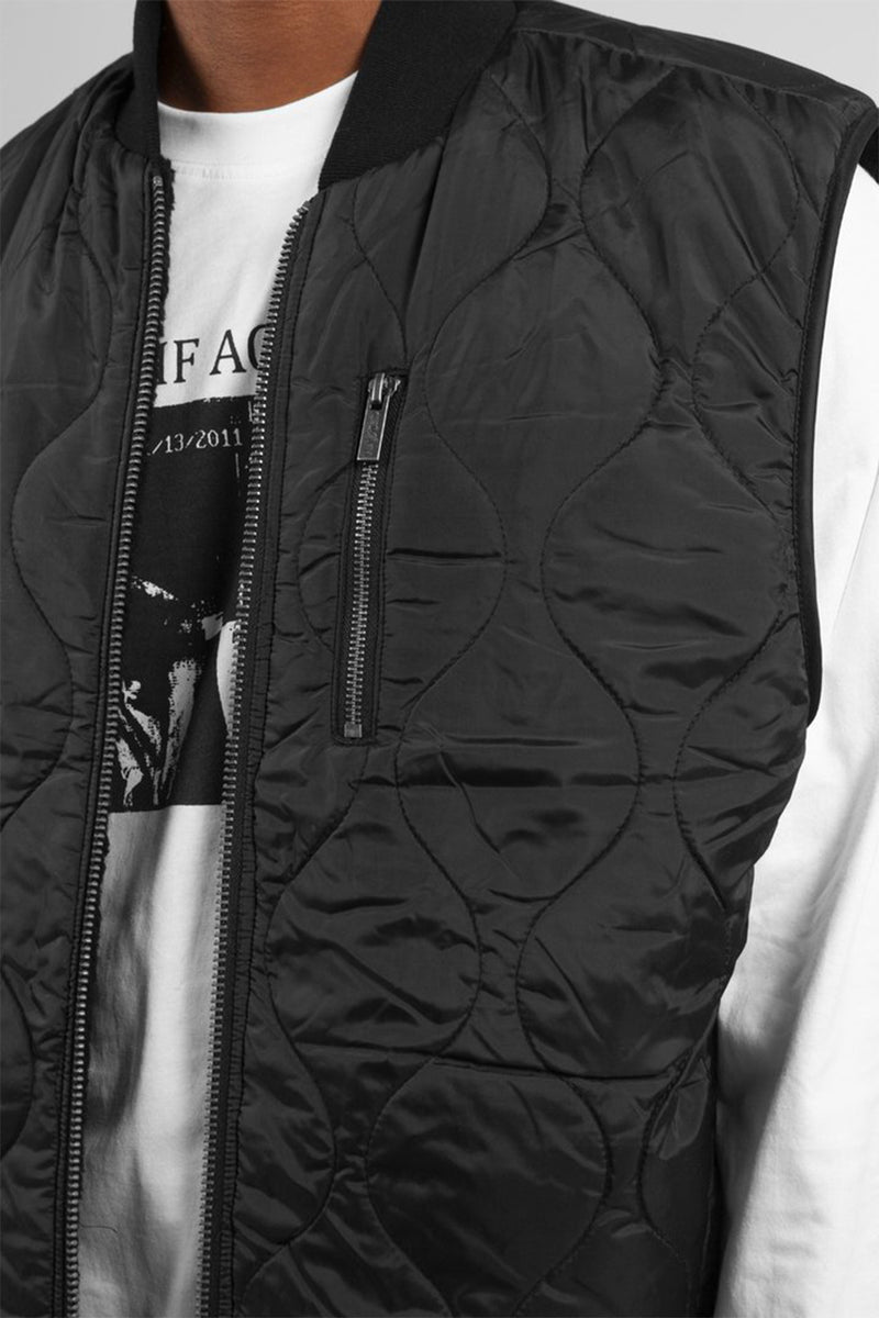 Mountain Vest Reversible Black