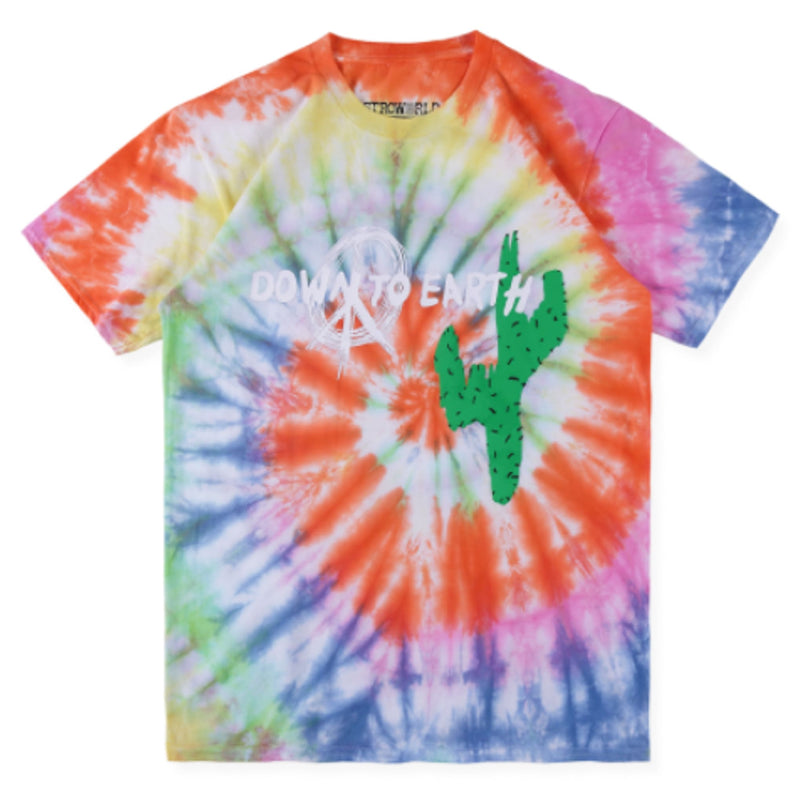 TRAVIS SCOTT x DOVER Star Tie Dye Tee