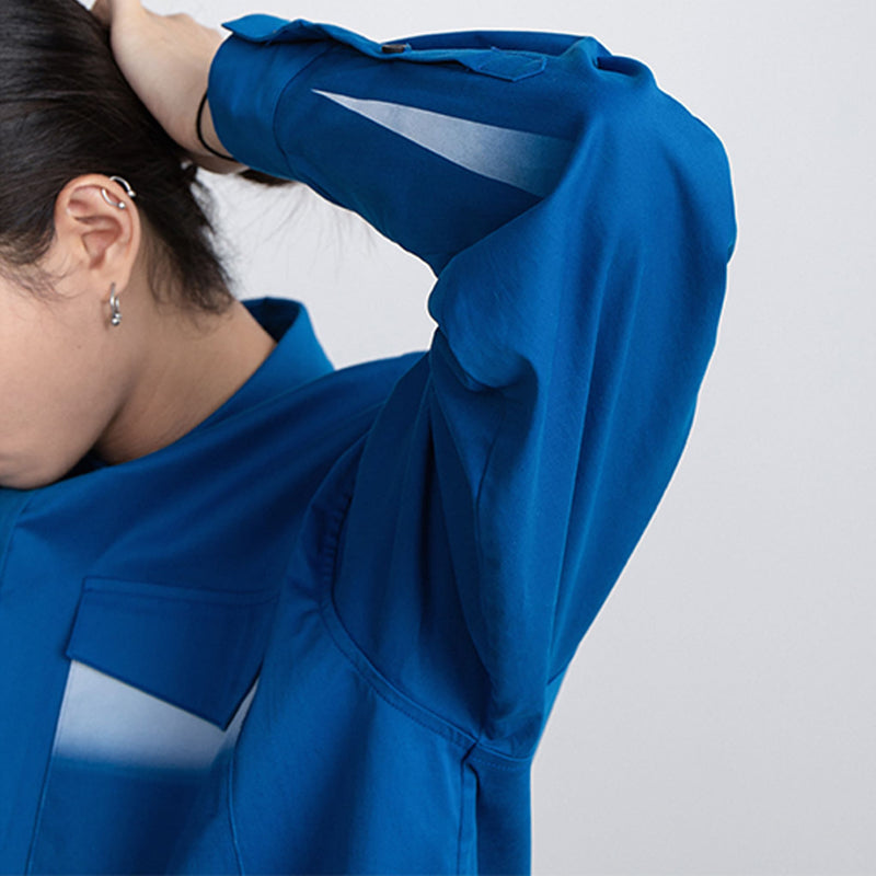 CONP(コンプ)-Blue Printing Shirts-SUPPLIER(サプライヤー)