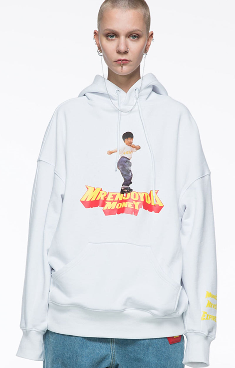 CROPPED PORTRAIT HOODIE