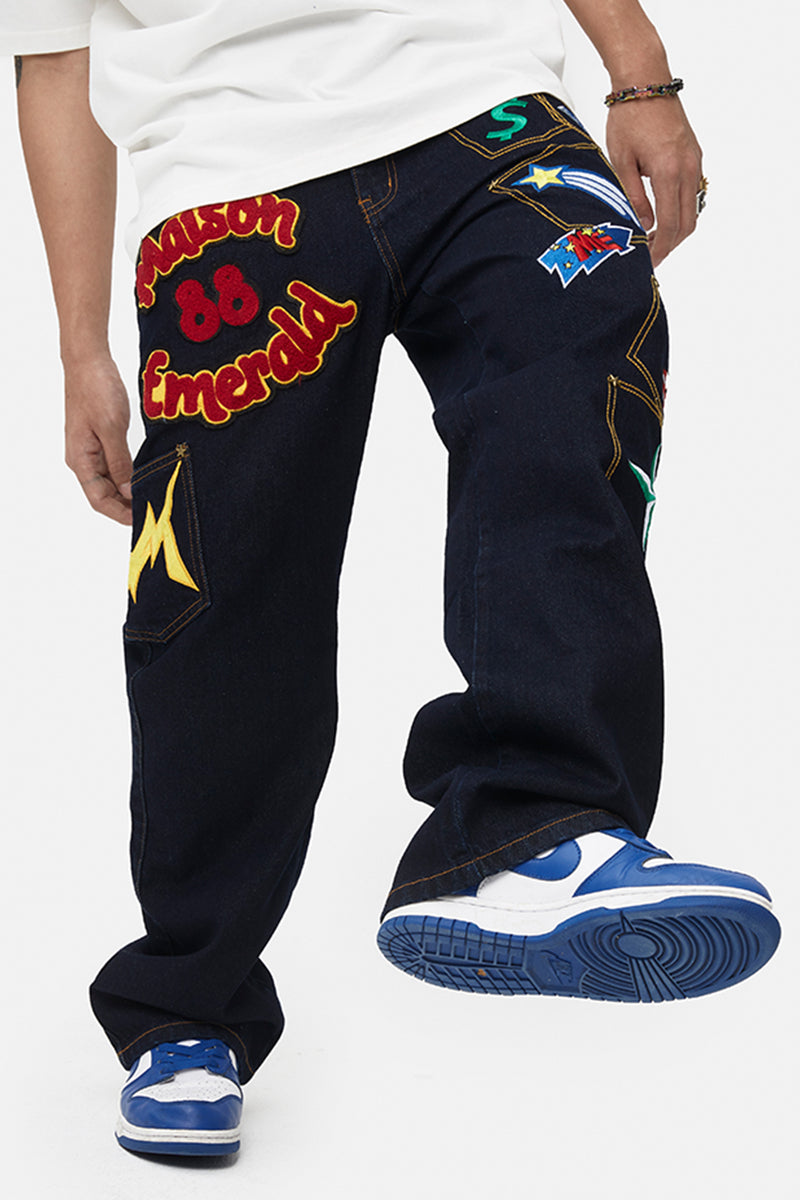 Multi Pocket Jeans