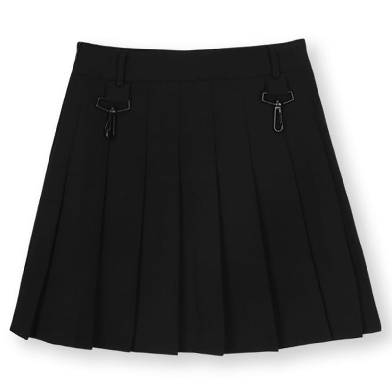 OPEN THE DOOR(オープンザドア)-LOGO PLEATS SKIRT-SUPPLIER(サプライヤー)