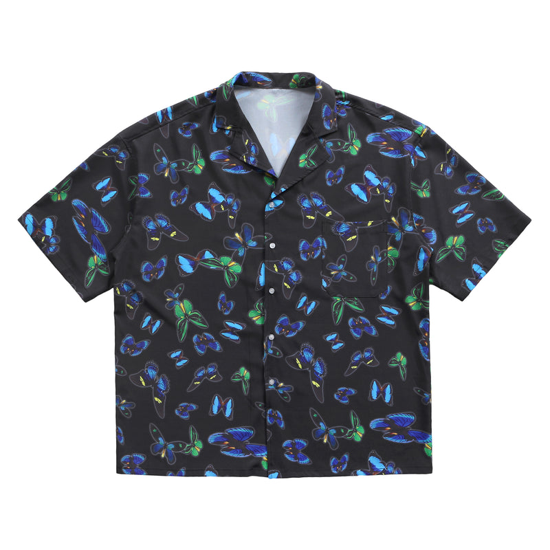 FULL PRINTED BUTTERFLY SHIRT