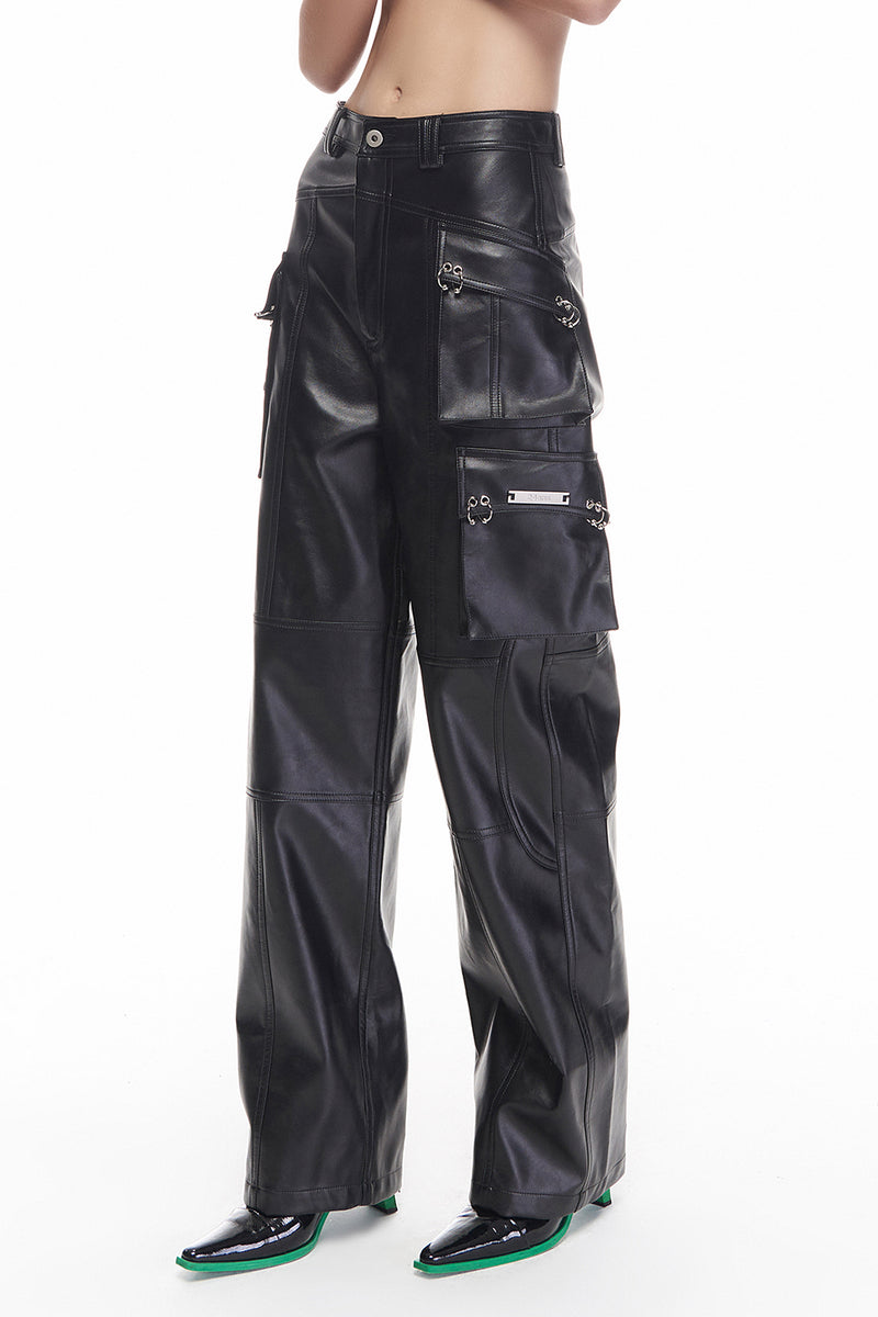 MOTORCYCLE LEATHER  PANTS
