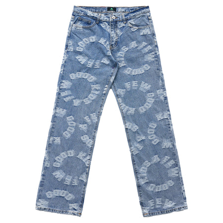 LOGO DENIM PANTS