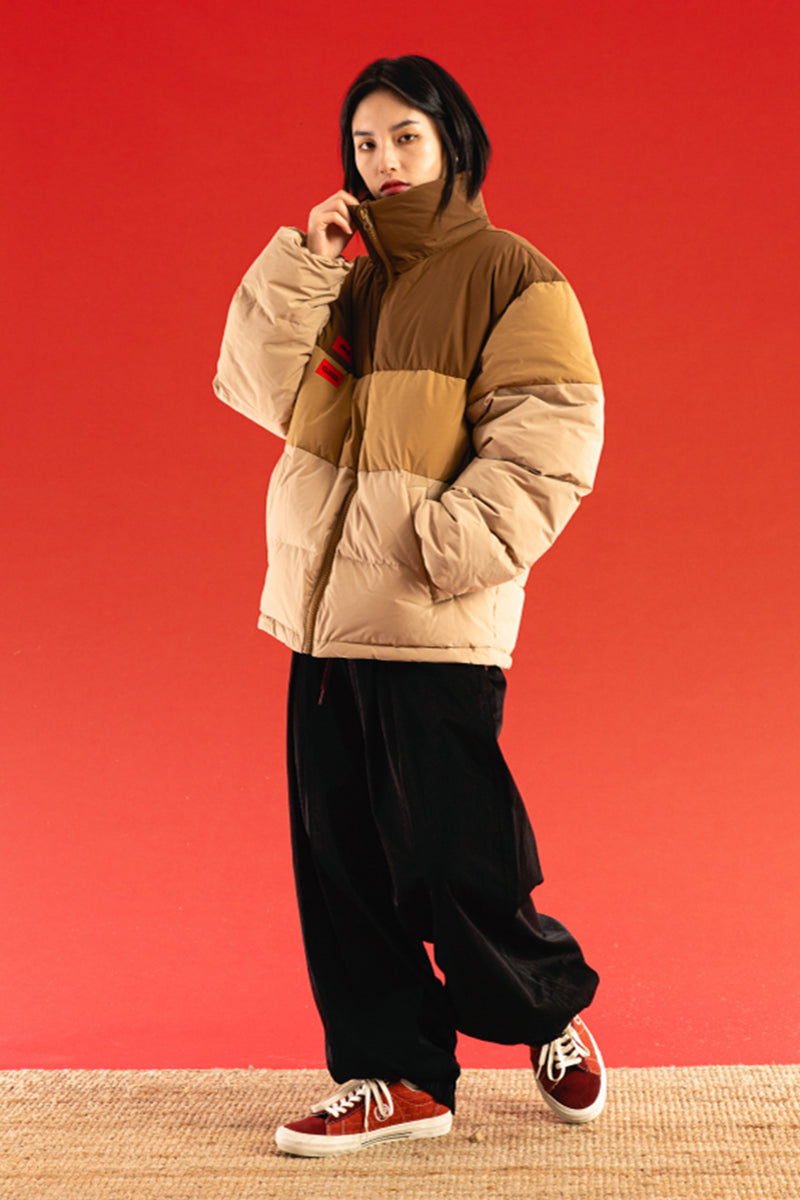 Gradient Down Jacket