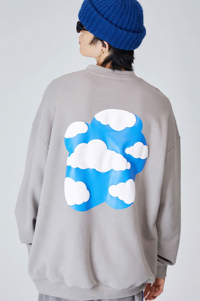 Cloud Foaming Logo Crewneck