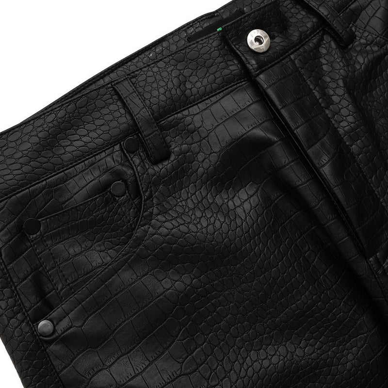 CROCODILE EFFECT JEANS