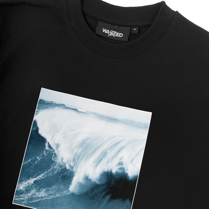 T-shirt Cold Waves Black
