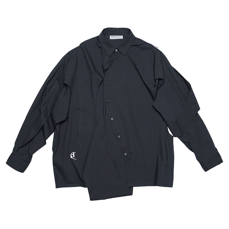 ATTEMPT(アテンプト)-Twisted Deconstructed Shaped Shirt-SUPPLIER(サプライヤー)