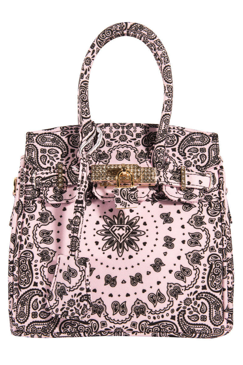 PAISLEY MINI BAG / PINK