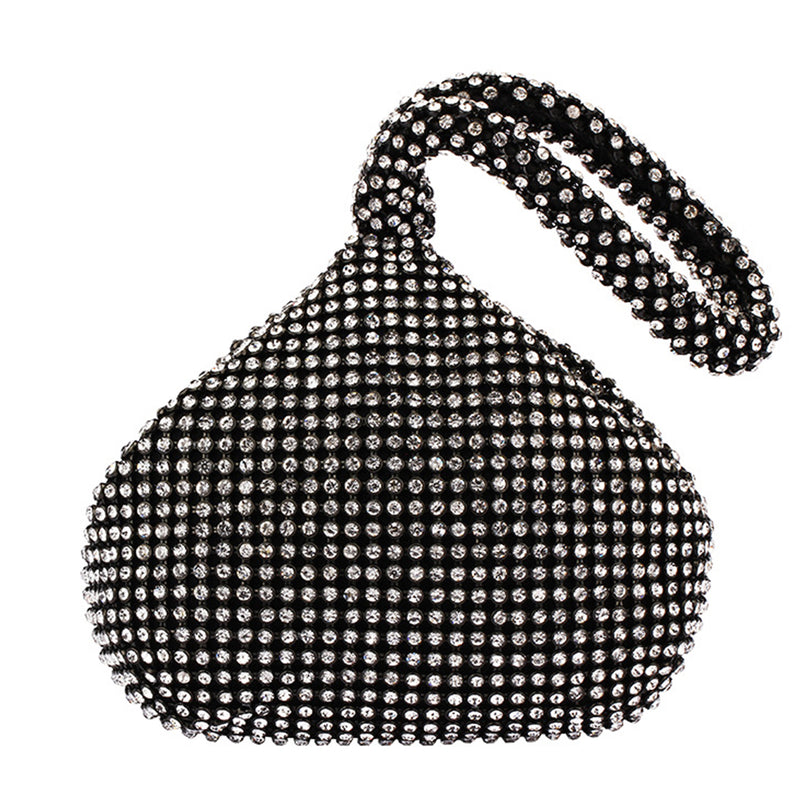 Diamond Clutch Bag / BLACK