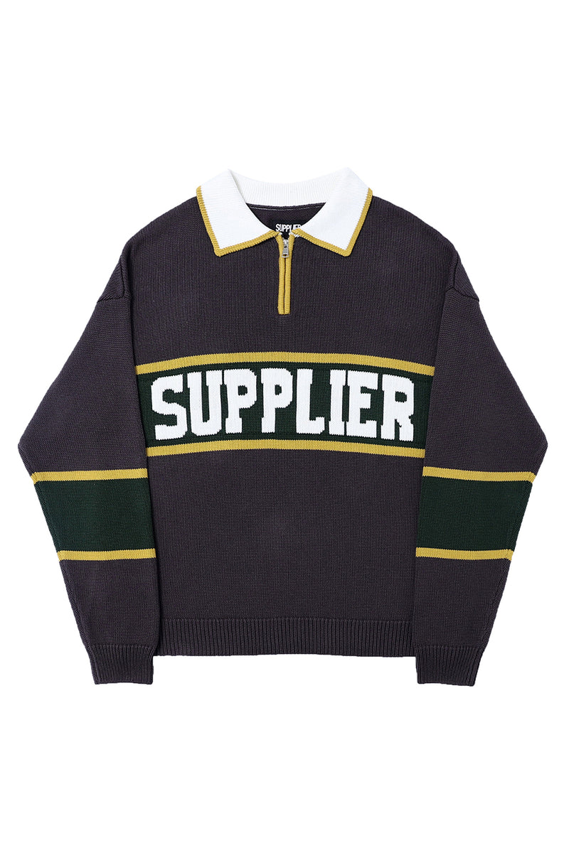 NEW COLLEGE LOGO KNIT