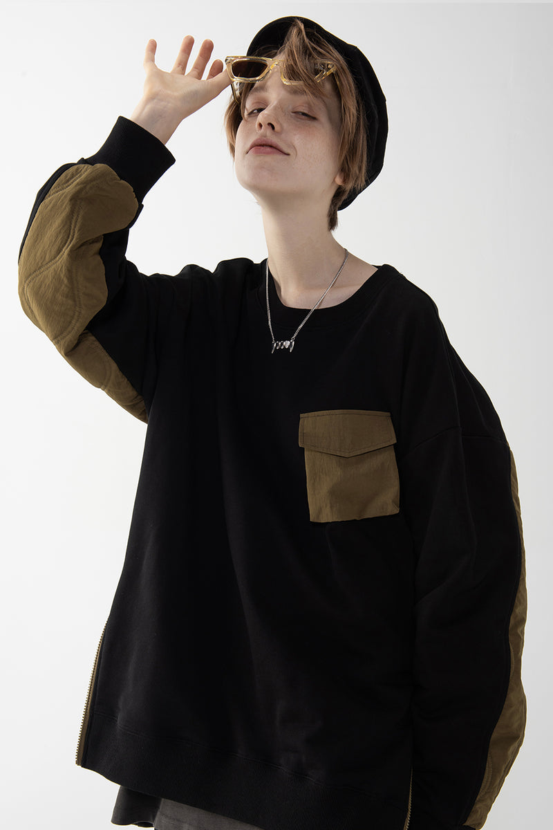 Oversize Terry Sweater