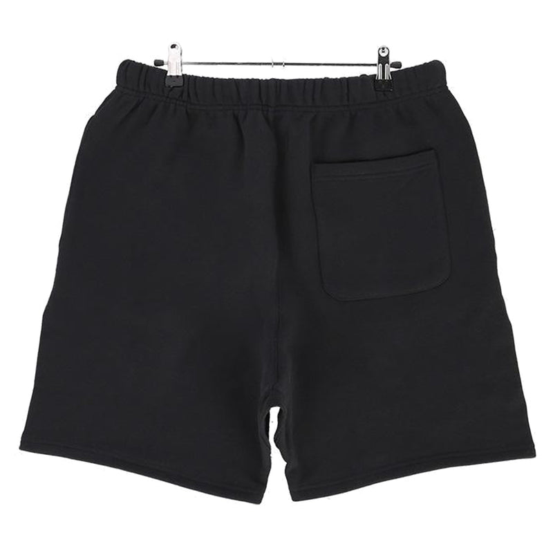 RUBBER TAG PRINT SWEAT SHORTS