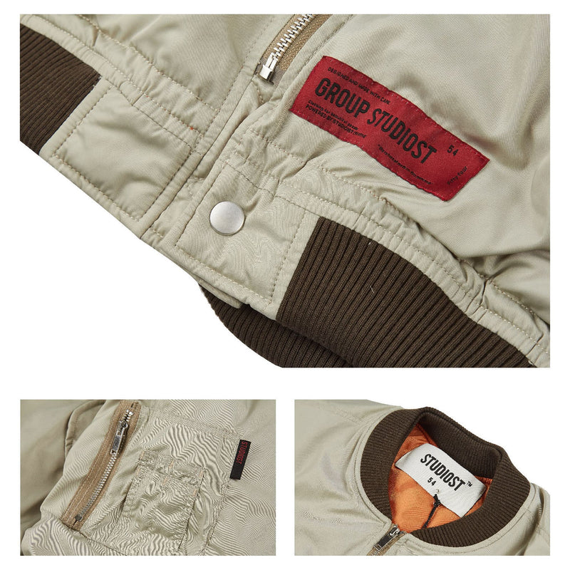 STUDIOST(スタディオスト)-Profile Quilted Short MA-1 Jacket-SUPPLIER(サプライヤー)