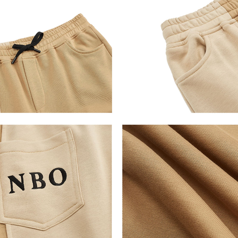 STITCHING EMBROIDERED SWEATPANTS