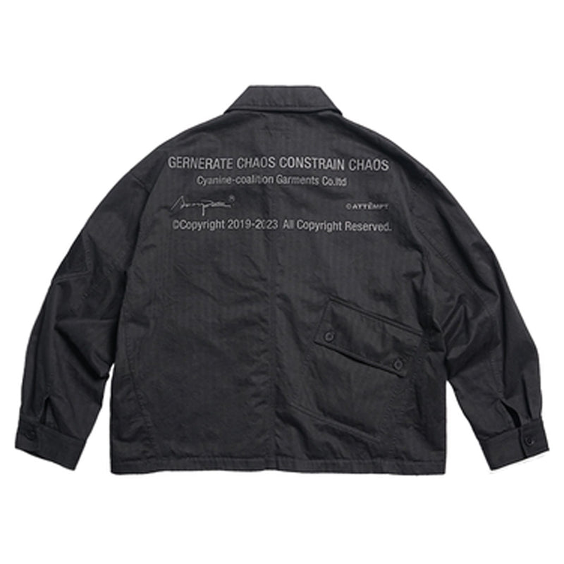 ATTEMPT(アテンプト)-BDU Military Wash Jacket-SUPPLIER(サプライヤー)