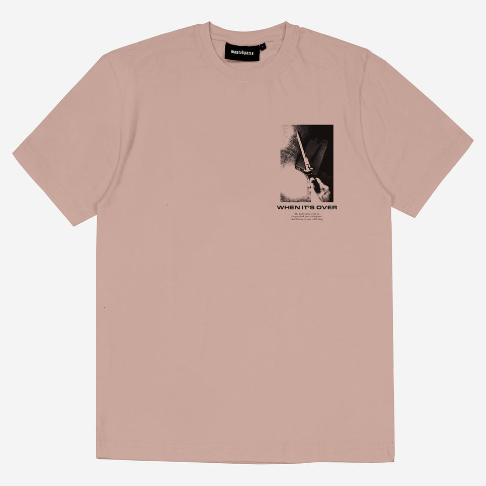 CLAY PINK OVER TEE