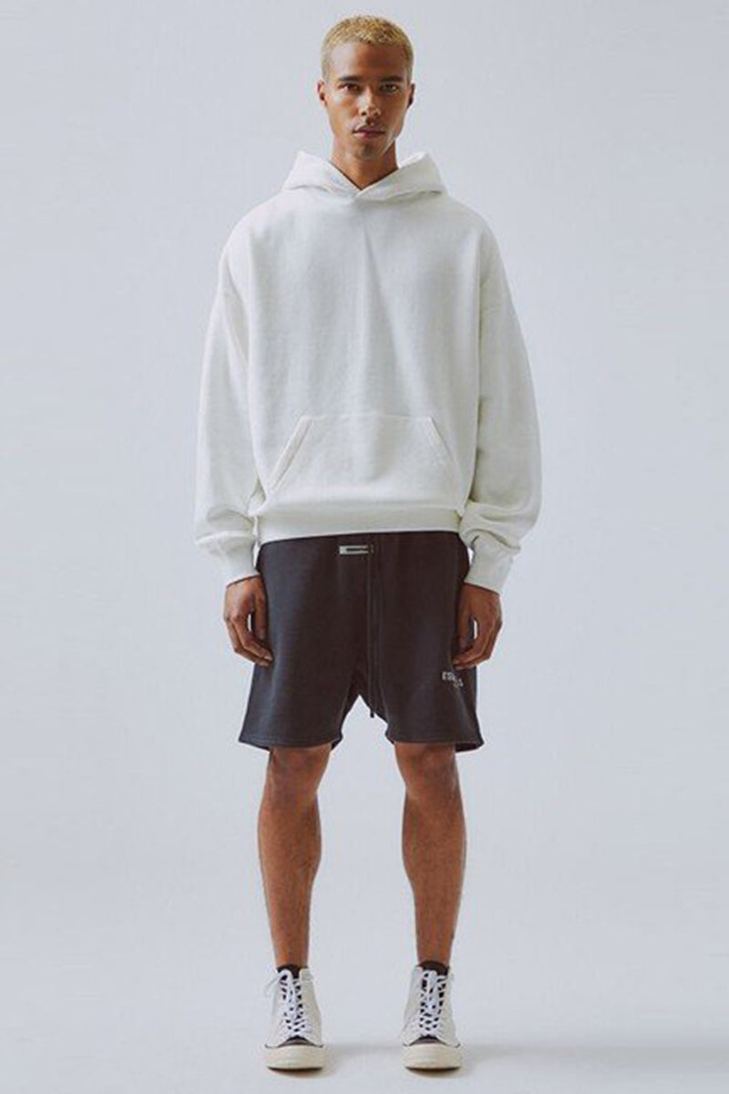 RUBBER TAG EMB SWEAT SHORTS