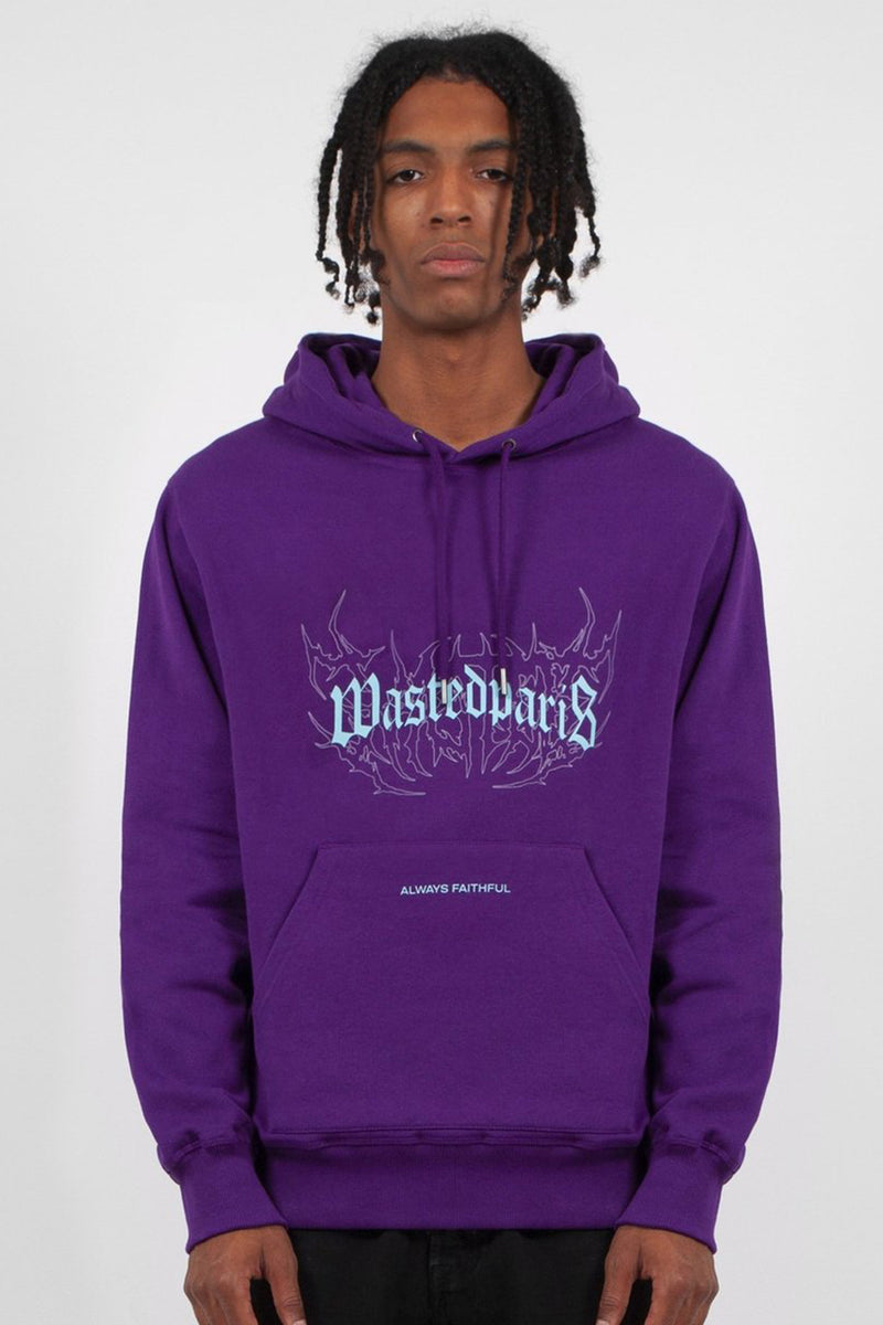 Shadow Bridge Hoodie Deep Purple