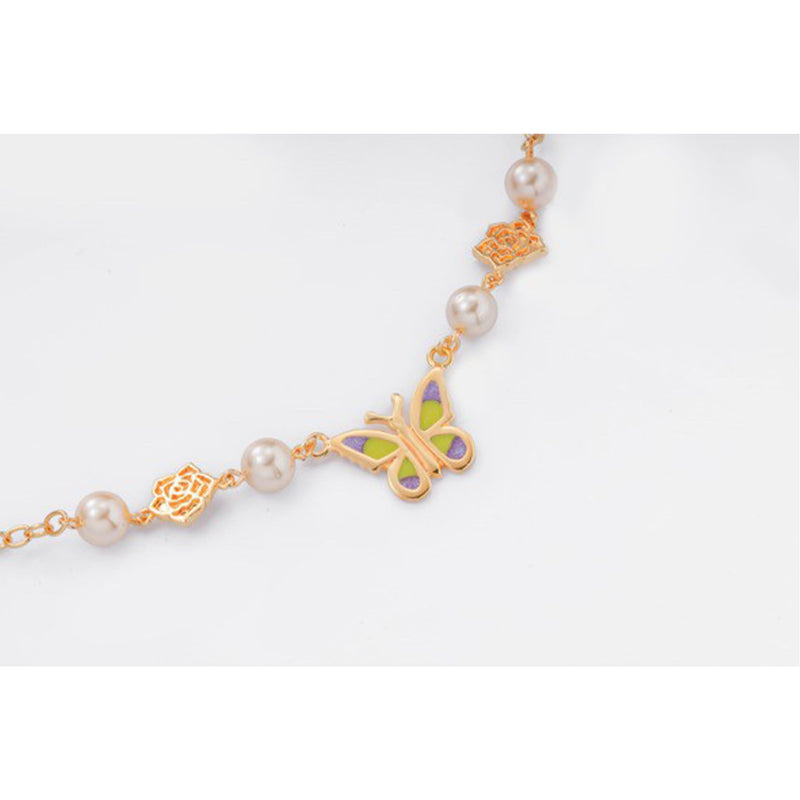 Champagne Angle Necklace