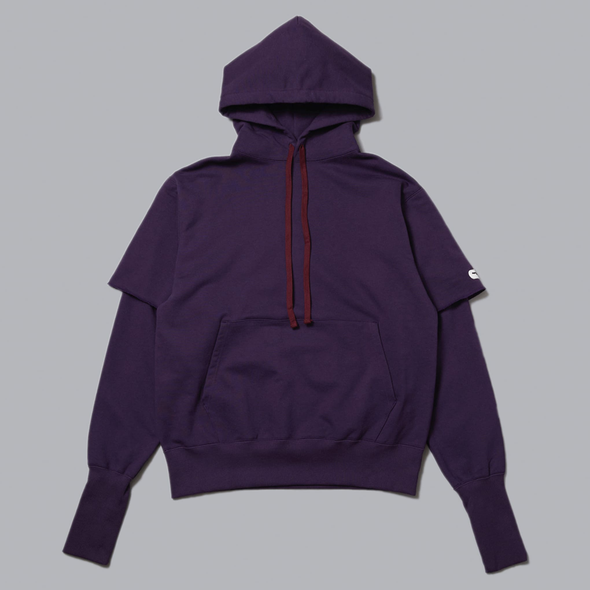 LAYERED P/O SWEAT HOODIE
