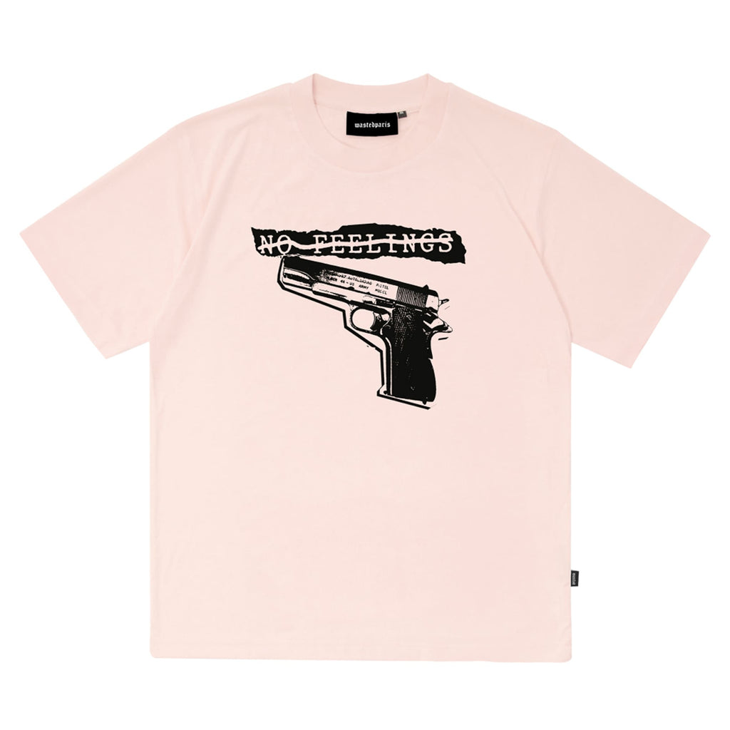 Tshirt No Feelings Light Pink