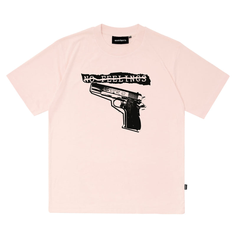 WASTED PARIS (Wasted Paris) Tshirt No Feelings Light Pink-SUPPLIER (Supplier)