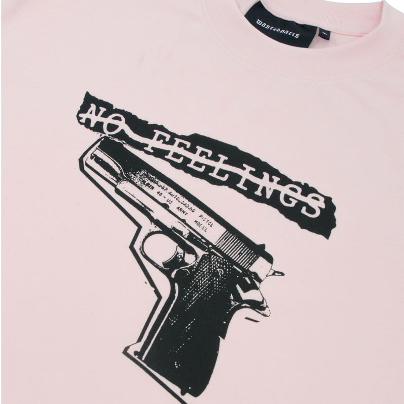 WASTED PARIS( Weiss Ted Paris )Tshirt No Feelings Light Pink-SUPPLIER( supplier)