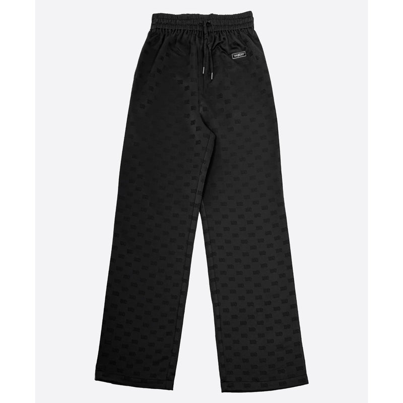 Regina Pant Satin Black Monogram