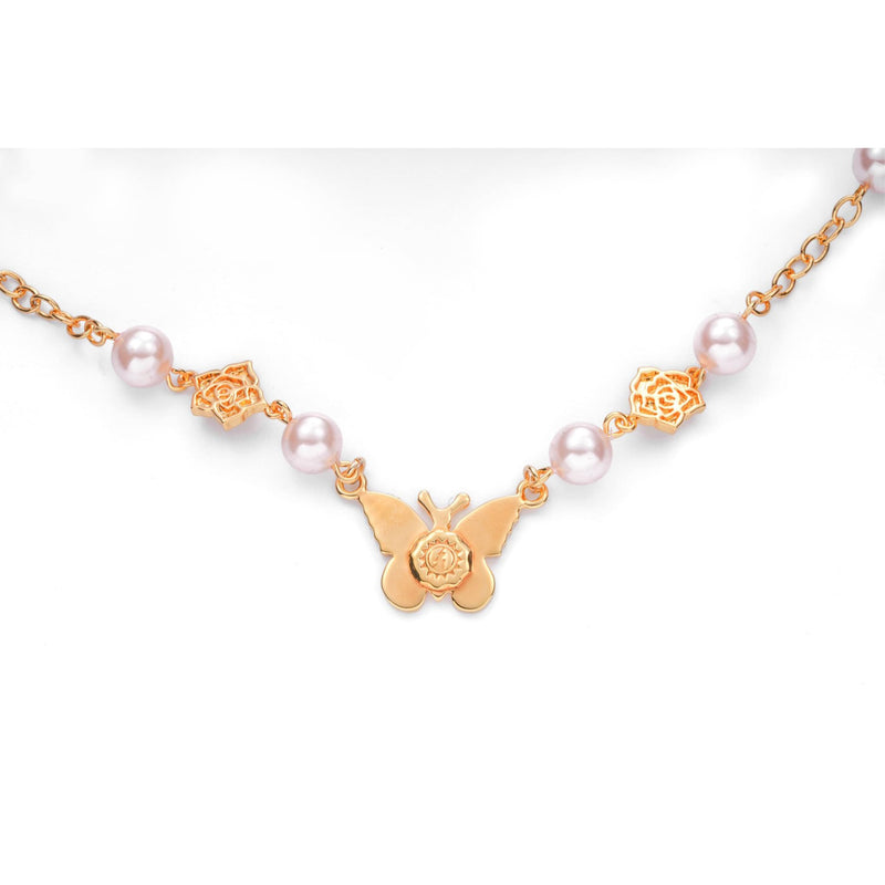 Rose Angel Necklace