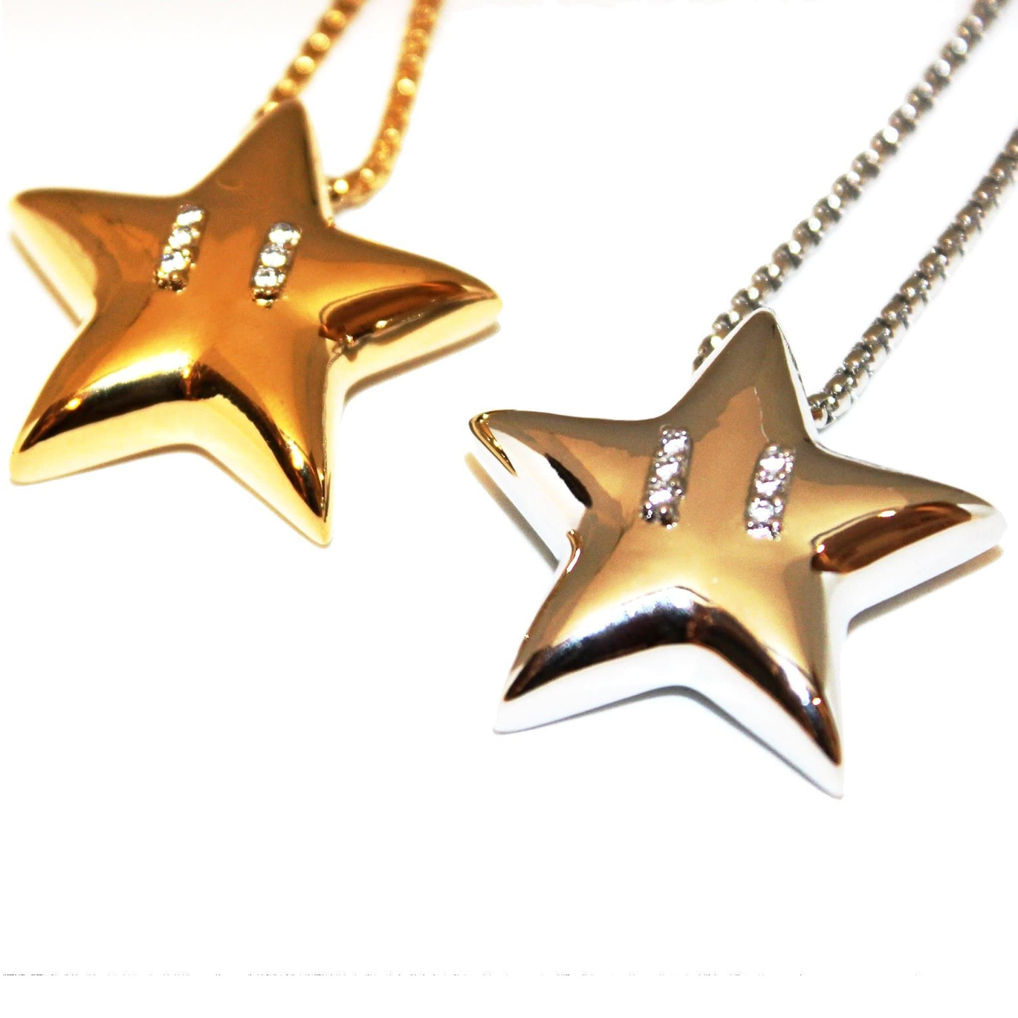 Super Mario Star Necklace