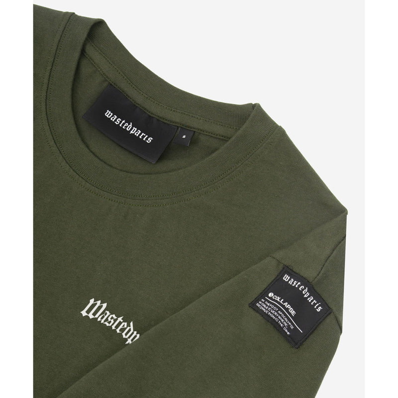wasted paris(ウェイステッドパリス)-KHAKI ESSENTIALS T-SHIRT-SUPPLIER(サプライヤー)
