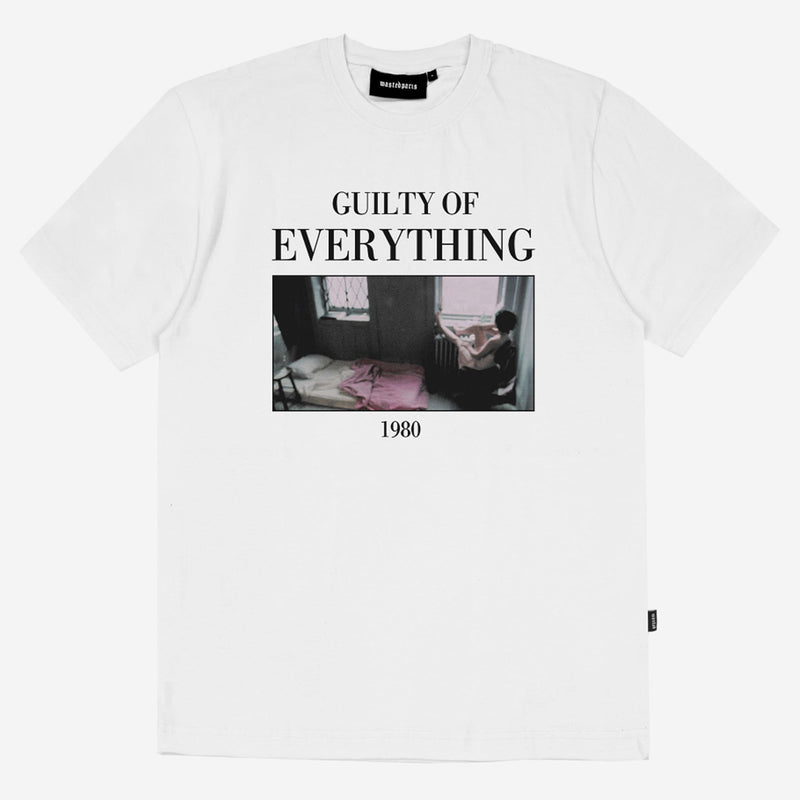 wasted paris(ウェイステッドパリス)-GUILTY T-SHIRT WHITE-SUPPLIER(サプライヤー)