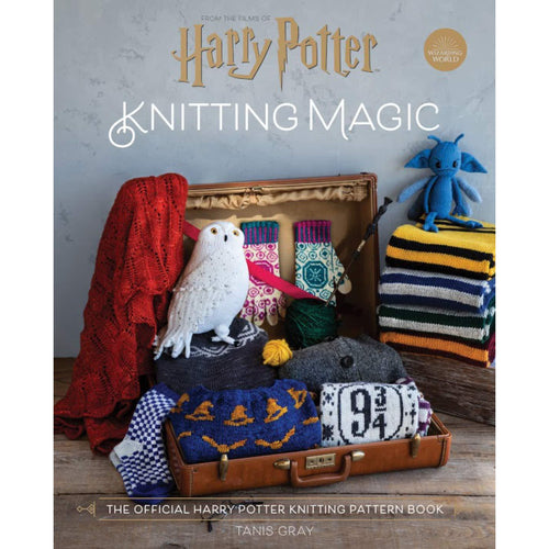 Harry Potter Knitting Magic - The official Harry Potter knitting pattern book-The Curious Emporium