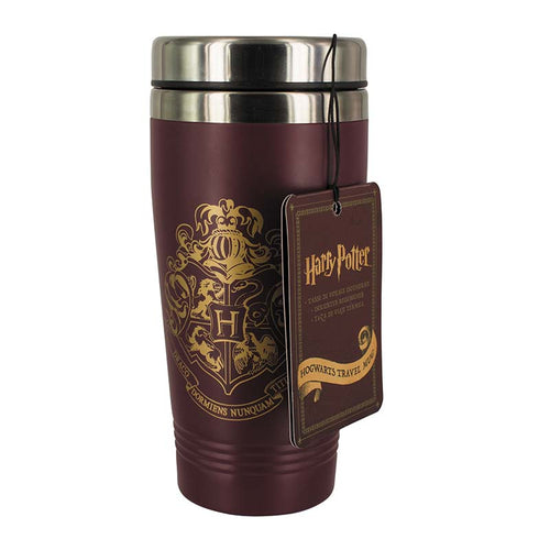 Travel Mug Hogwarts Crest-The Curious Emporium