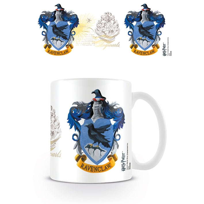 Boxed Mug Ravenclaw Crest-The Curious Emporium